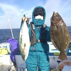 2月 11日 (水) 1日便・イワシの泳がせ釣りの写真その6