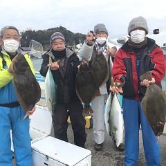 2月 11日(金) 1日便・イワシの泳がせ釣りの写真その1