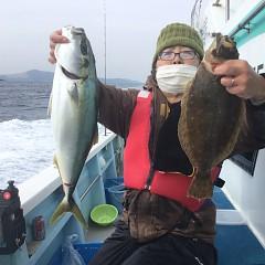 2月 11日(金) 1日便・イワシの泳がせ釣りの写真その2