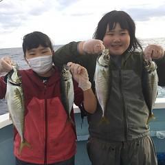 2月 13日(土)午後便・アジ釣りの写真その1