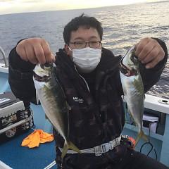 2月 13日(土)午後便・アジ釣りの写真その4