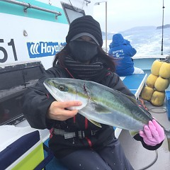 2月 13日(土)午前便・イワシの泳がせ釣りの写真その3