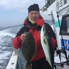 2月 13日(土)午前便・イワシの泳がせ釣りの写真その4