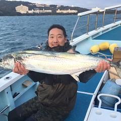2月19日(金)午前便・イワシの泳がせ釣りの写真その1