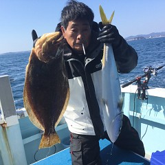 2月 20日(土)午前・泳がせ釣り 午後・アジ釣りの写真その3