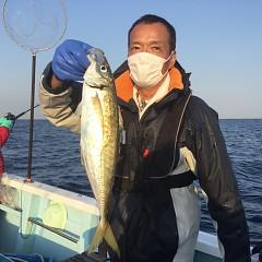 2月 20日(土)午前・泳がせ釣り 午後・アジ釣りの写真その6