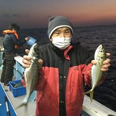 2月 20日(土)午前・泳がせ釣り 午後・アジ釣りの写真その9