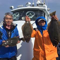 2月 21日(日)午前便・イワシの泳がせ釣りの写真その1