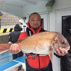 2月 26日(金)午前・泳がせ釣り 午後・アジ釣りの写真その1