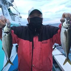 2月 28日(日)午前、午後・アジ釣りの写真その1