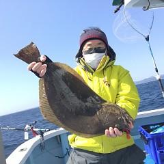 3月 18日(木)午前・ヒラメ釣り 午後・アジ釣りの写真その1
