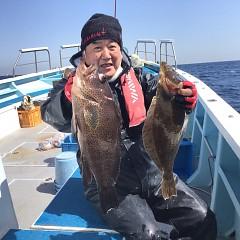 3月 18日(木)午前・ヒラメ釣り 午後・アジ釣りの写真その3