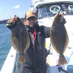 3月 23日 (火) 午前便・ヒラメ釣りの写真その2
