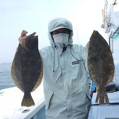 3月 30日(火) 午前・ヒラメ釣り 午後・アジ釣りの写真その1