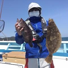 3月 31日(水)午前便・ヒラメ釣りの写真その1