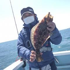 3月 31日(水)午前便・ヒラメ釣りの写真その3