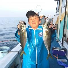 3月 31日(水)午後便・アジ釣りの写真その1