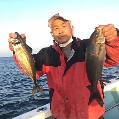 4月 10日(土) 午前、午後・アジ釣りの写真その1