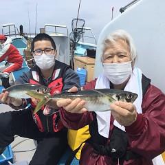 4月 24日(土) 午前便・アジ釣りの写真その1