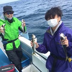 4月 25日(日)午前便・アジ釣りの写真その1