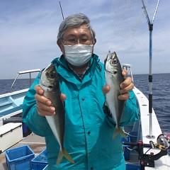 4月 27日(火) 午前、アジ釣り 午後・ウタセ真鯛の写真その4