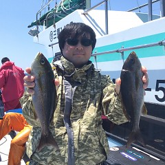 5月 23日(日)午前・アジ釣り 午後・ウタセ真鯛の写真その1