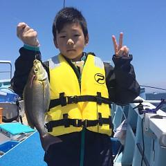 5月 23日(日)午前・アジ釣り 午後・ウタセ真鯛の写真その3