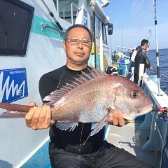 5月 23日(日)午前・アジ釣り 午後・ウタセ真鯛の写真その7