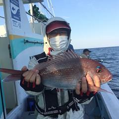 5月 23日(日)午前・アジ釣り 午後・ウタセ真鯛の写真その9