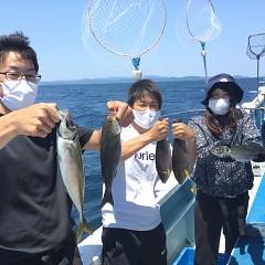 5月 30日(日)午前便・アジ・イサキ釣りの写真その1
