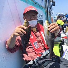 5月 30日(日)午前便・アジ・イサキ釣りの写真その2