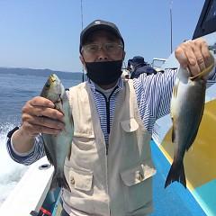 6月 9日(水)午前便・イサキ、アジ釣りの写真その1
