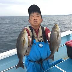 6月 18日(金)午後便・イサキ釣りの写真その1