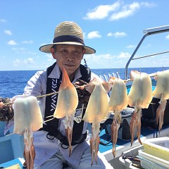 7月 21日(水)1日便・スルメイカ釣りの写真その4