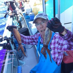 7月 22日(木)1日便・スルメイカ釣りの写真その2
