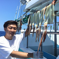 7月 25日(日)1日便・スルメイカ釣りの写真その5