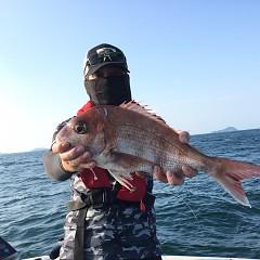 7月30日(金)午後便・タテ釣りの写真その2