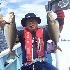 8月 22日(日)7時出船・タテ釣りの写真その5