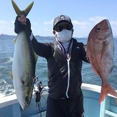 8月27日(金)午前・午後・タテ釣りの写真その1