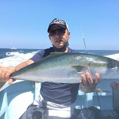 8月 28日(土)午前、午後・タテ釣りの写真その1