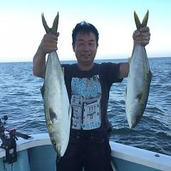 8月 28日(土)午前、午後・タテ釣りの写真その4