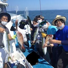 8月 29日(日)午前便・タテ釣りの写真その1