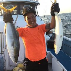 8月 29日(日) 午後便・タテ釣りの写真その2