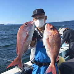 9月 9日(木)午後便・ウタセ真鯛の写真その1