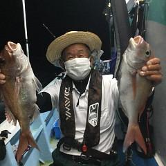 10月5日(火)午前便・タテ釣り・午後便・真鯛釣りの写真その7
