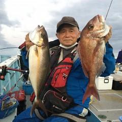10月14日(木)午後便・ウタセ真鯛釣りの写真その3
