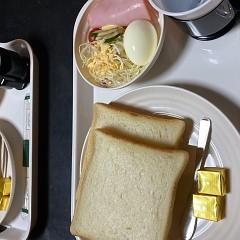 1泊2食付きビジネスプランの朝食 軽食の画像