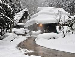 【画像】平湯民俗館冬期営業について