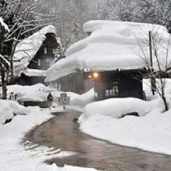 平湯民俗館冬期営業についての画像