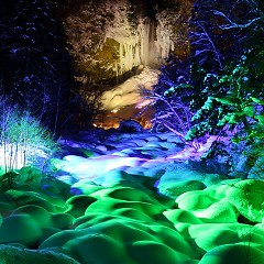 平成30年2月15日~25日 平湯大滝結氷まつりの画像